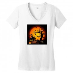 Happy Halloween Women's V-Neck T-Shirt | Artistshot