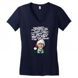 Clark Griswold Christmas Tee Women's V-Neck T-Shirt | Artistshot
