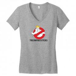 Trumpbusters Women's V-Neck T-Shirt | Artistshot