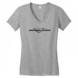 Mustang car Women's V-Neck T-Shirt | Artistshot