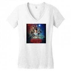 Stranger Things Women's V-Neck T-Shirt | Artistshot