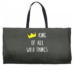 king of all wild things Weekender Totes | Artistshot