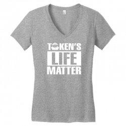 Tokens Life Matter Women's V-Neck T-Shirt | Artistshot