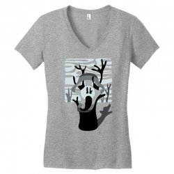 the tree's scream Women's V-Neck T-Shirt | Artistshot