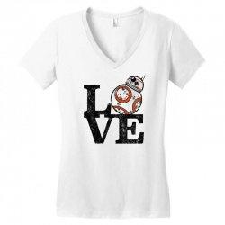 love bb Women's V-Neck T-Shirt   Artistshot
