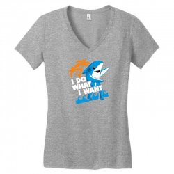 48236f7ef Custom Left Shark I Do What I Want Ladies Curvy T-shirt By Gematees ...