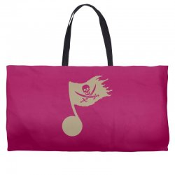 music pirate Weekender Totes | Artistshot