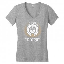 Libra Women Women's V-Neck T-Shirt   Artistshot