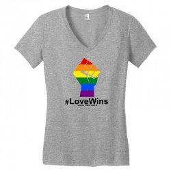 Love Wins 12th 2016 - Orlando Strong Women's V-Neck T-Shirt | Artistshot