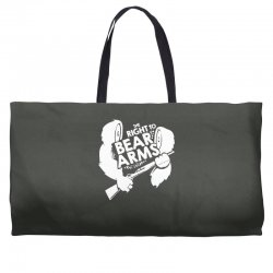 the right to bear arms Weekender Totes | Artistshot