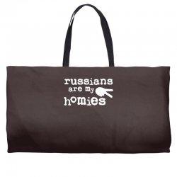 russians are my homies Weekender Totes | Artistshot