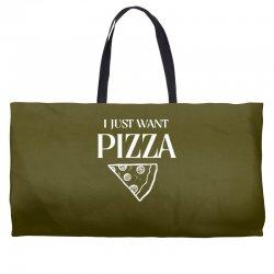 i just want pizza Weekender Totes   Artistshot