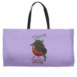 eat fruits Weekender Totes | Artistshot