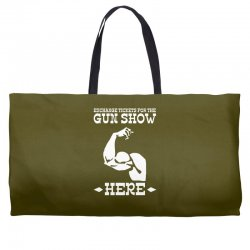 the gun show Weekender Totes | Artistshot
