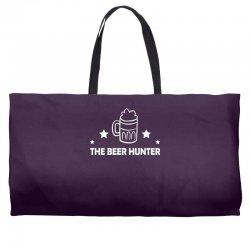 the beer hunter Weekender Totes | Artistshot