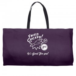 fried chicken it's good for you! Weekender Totes | Artistshot
