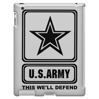 cd6bd40e9 us army this we ll defend iPad 3 and 4 Case. sbm052017
