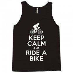 Keep Calm and Ride a Bike Tank Top | Artistshot