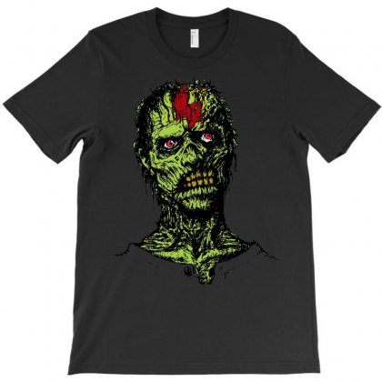 Zombie Brain Out T-shirt Designed By Sbm052017