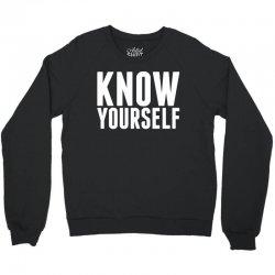 Know Yourself Crewneck Sweatshirt   Artistshot