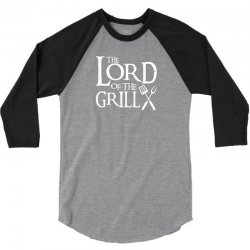 Lord of the Grill 3/4 Sleeve Shirt | Artistshot