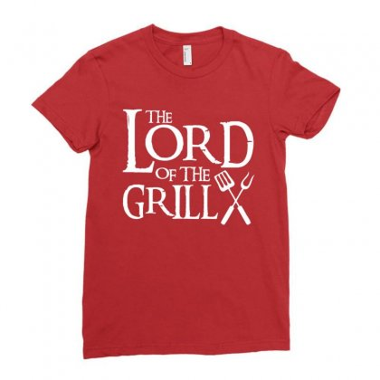 Lord Of The Grill Ladies Fitted T-shirt Designed By Tshiart