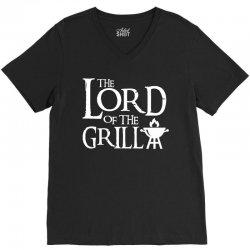 Lord of the Grill V-Neck Tee | Artistshot