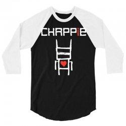 Love Chappie 3/4 Sleeve Shirt   Artistshot