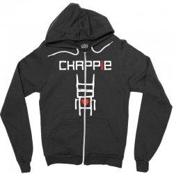 Love Chappie Zipper Hoodie | Artistshot