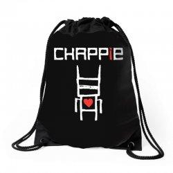 Love Chappie Drawstring Bags | Artistshot