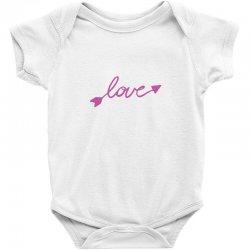 Love Baby Bodysuit | Artistshot