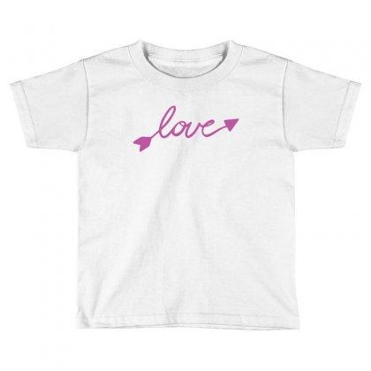 Love Toddler T-shirt Designed By Tshiart