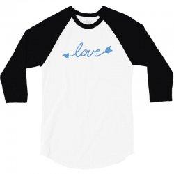 Love 3/4 Sleeve Shirt   Artistshot