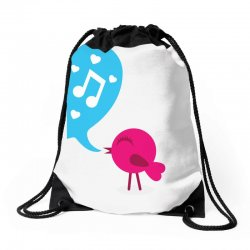 Love Bird Drawstring Bags | Artistshot