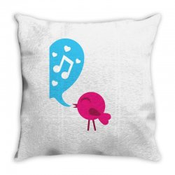 Love Bird Throw Pillow | Artistshot