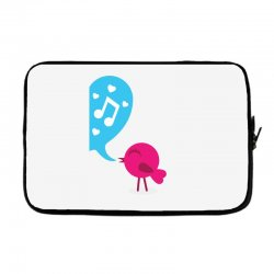 Love Bird Laptop sleeve | Artistshot