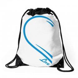 Love Forever For Him Drawstring Bags   Artistshot
