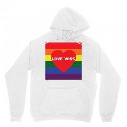 Love Wins Unisex Hoodie | Artistshot