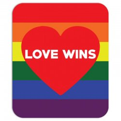 Love Wins Mousepad | Artistshot