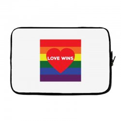 Love Wins Laptop sleeve | Artistshot