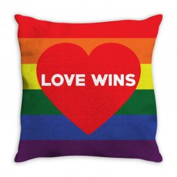 Love Wins Throw Pillow | Artistshot