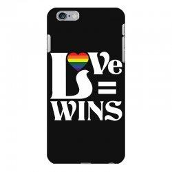 Love Wins iPhone 6 Plus/6s Plus Case | Artistshot
