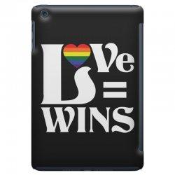 Love Wins iPad Mini Case   Artistshot