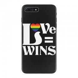 Love Wins iPhone 7 Plus Case   Artistshot