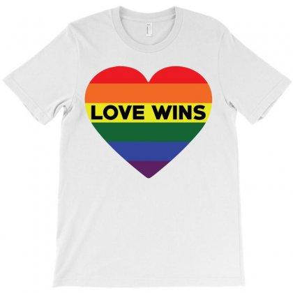 Love Wins T-shirt Designed By Tshiart