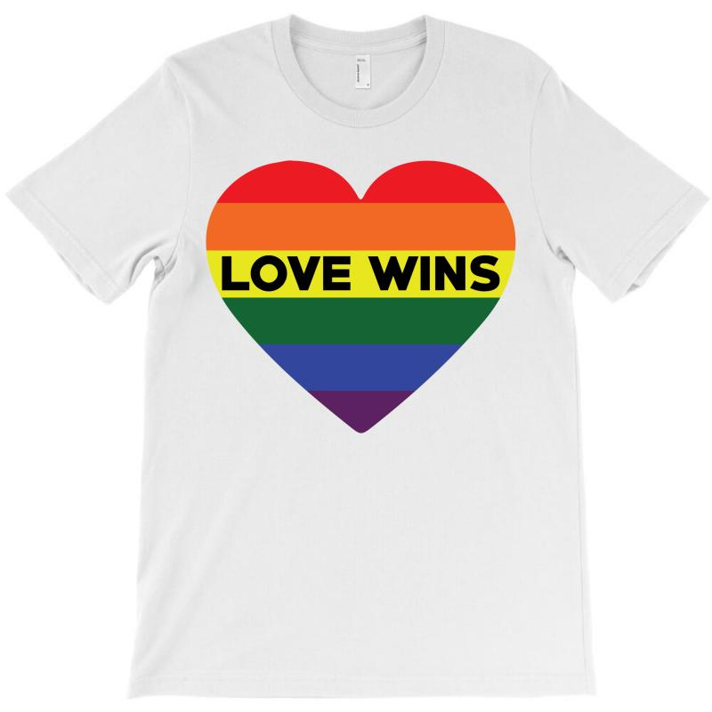 Love Wins T-shirt | Artistshot