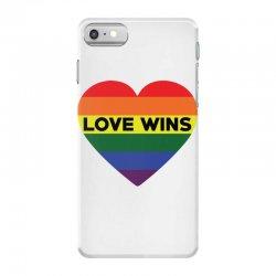 Love Wins iPhone 7 Case   Artistshot