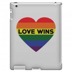Love Wins iPad 3 and 4 Case   Artistshot