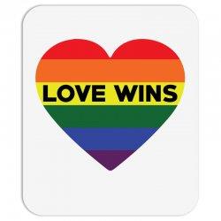 Love Wins Mousepad   Artistshot