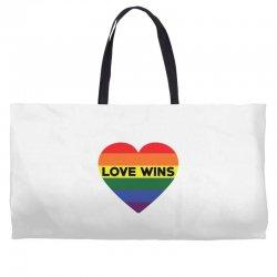 Love Wins Weekender Totes   Artistshot